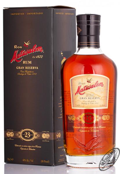 Ron Matusalem Gran Reserva Solera 23 Rum 40% vol. 0,70l