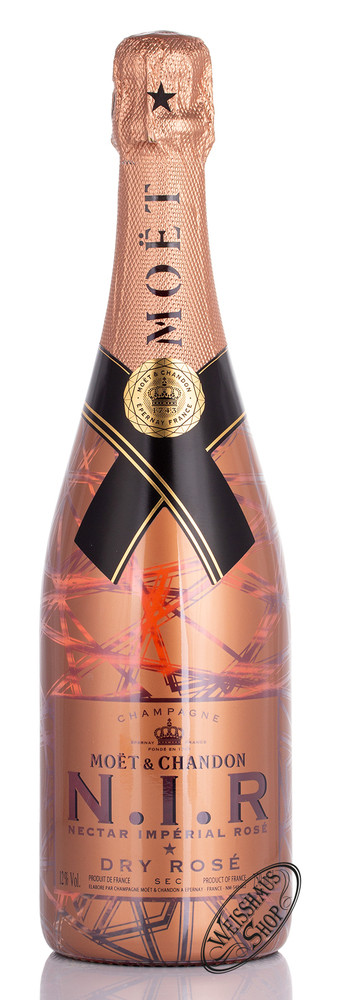 Moet & Chandon Nectar Imp�rial Ros� Champagner 12% vol. 0,75l