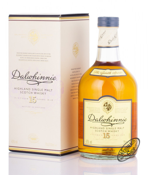 Dalwhinnie 15 YO Highland Whisky 43% vol. 0,70l