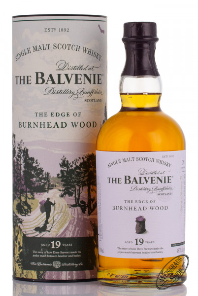 The Balvenie 19 YO Burnhead Wood Whisky 48,7% vol. 0,70l