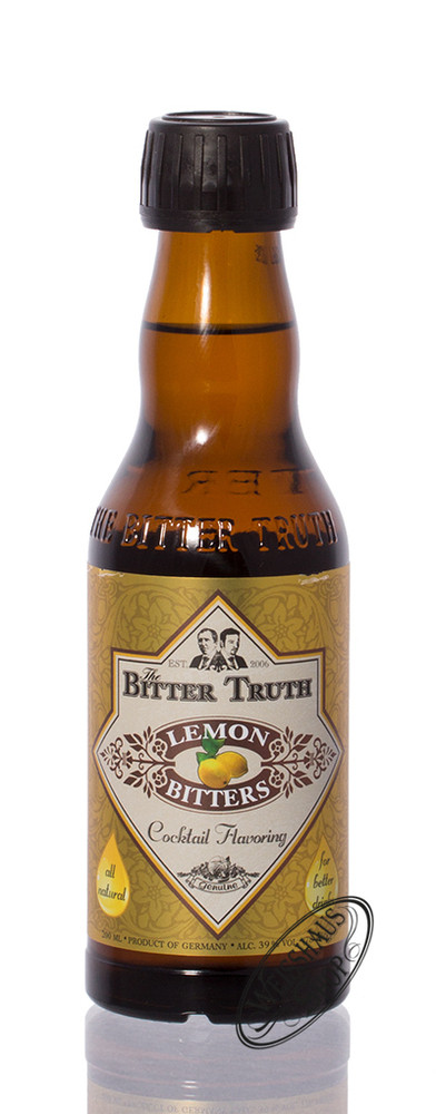 The Bitter Truth Lemon Bitter 39% vol. 0,20l