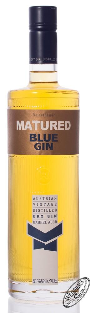 Reisetbauer Matured Blue Gin 51% vol. 0,70l