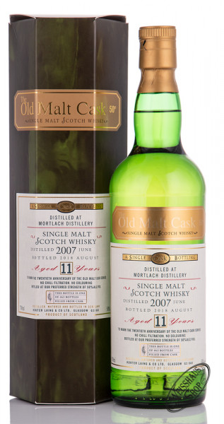 Mortlach 11 YO Hunter Laing 2007 Whisky 50% vol. 0,70l