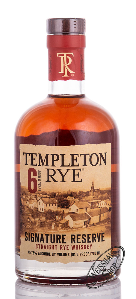 Distillery Templeton Templeton 6 YO Rye Whiskey 45,75% vol. 0,70l