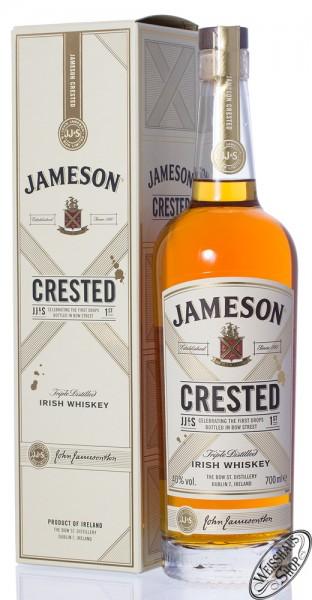 Jameson Crested Irish Blended Whiskey 40% vol. 0,70l