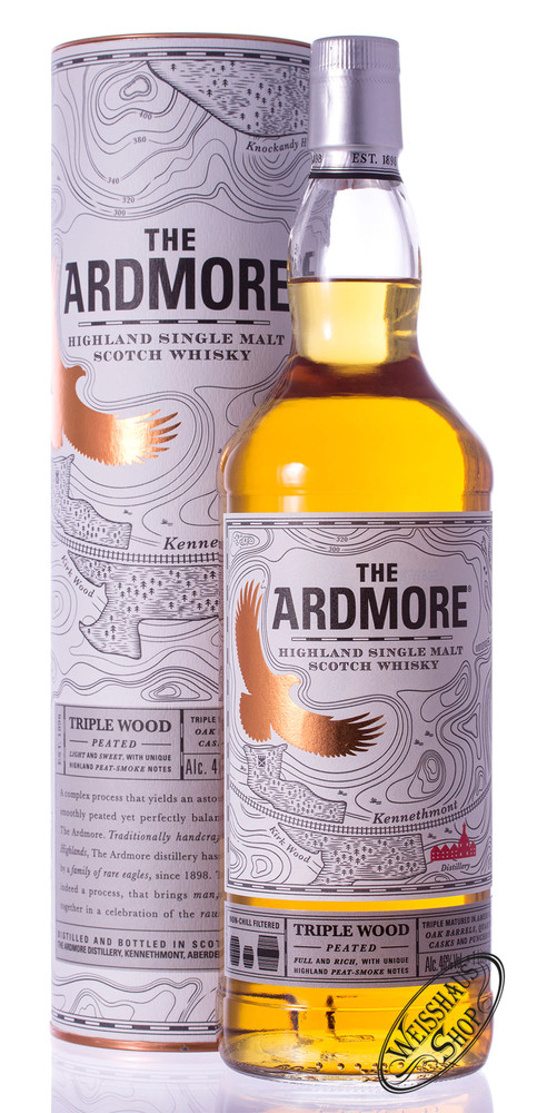 Ardmore Triple Wood Whisky 46% vol. 1,0l