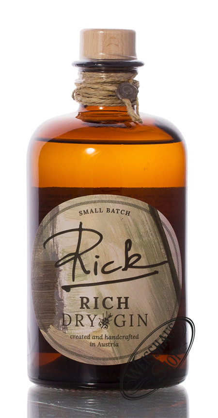 dreizehn Bar & Restaurant GmbH Rick Rich Dry Gin 43% vol. 0,50l