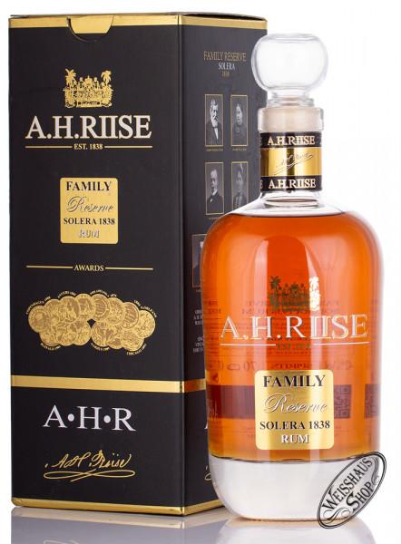 A.H. Riise Family Reserve 1838 25 YO Rum 42% vol. 0,70l