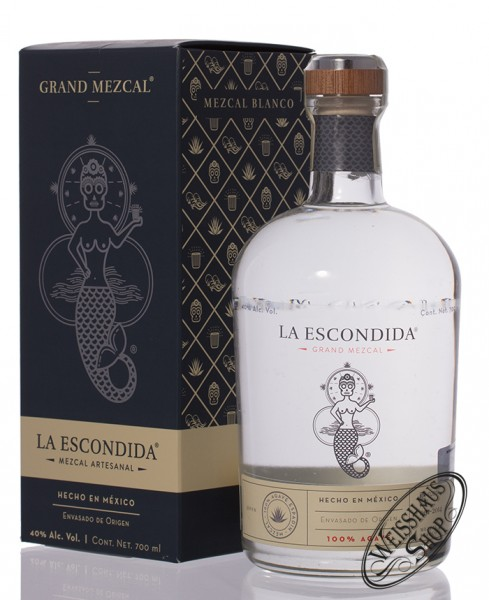 La Escondida Mezcal 40% vol. 0,70l