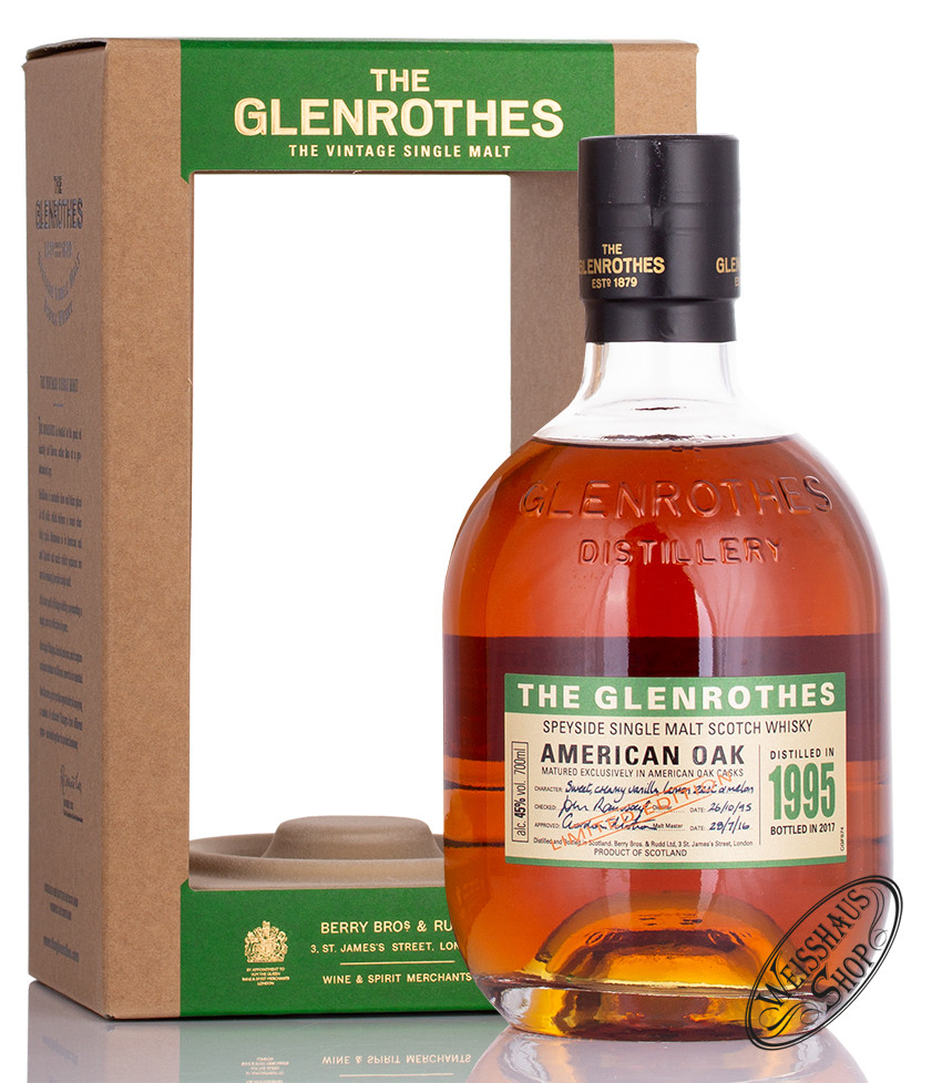 The Glenrothes 1995 American Oak Whisky 45% vol. 0,70l