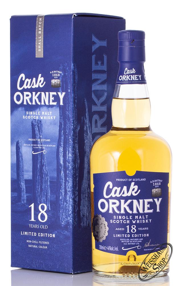 Stronachie Cask Orkney A.D. Rattray 18 YO Whisky 46% vol. 0,70l