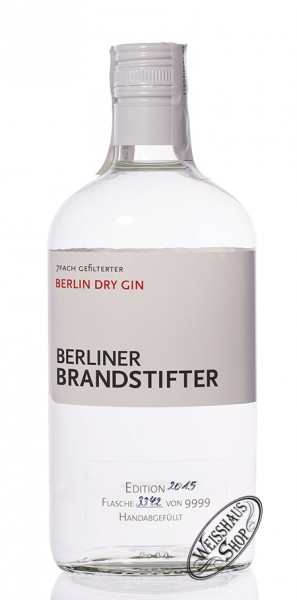 Berliner Brandstifter Gin 43,3% vol. 0,70l