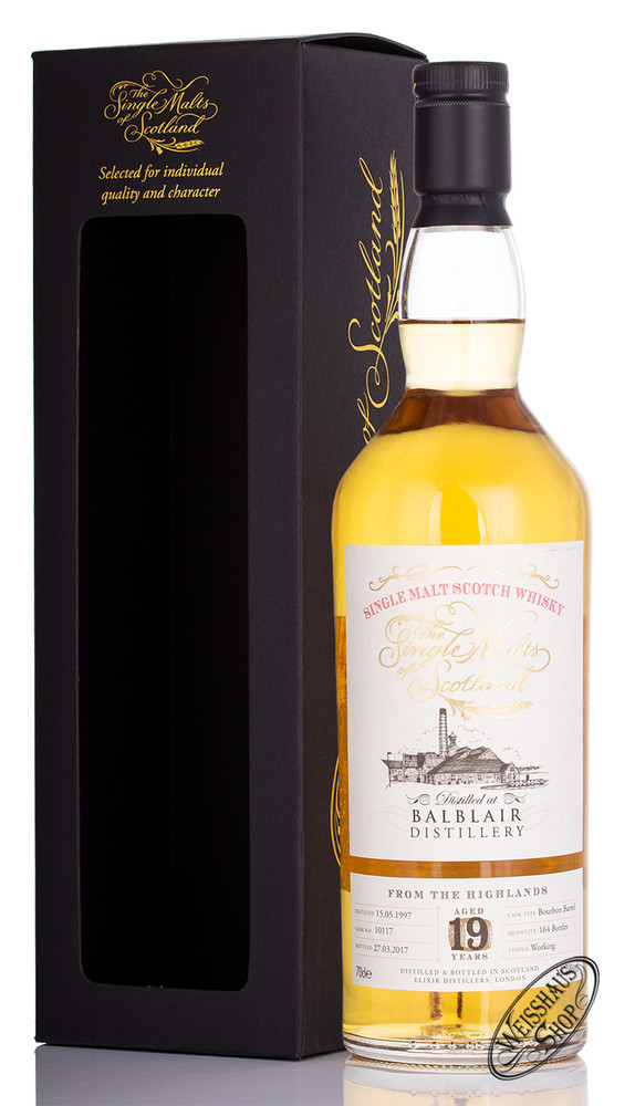 Balblair Vintage 1997 The Single Malts of Scotland Whisky Edition 56,2% vol. 0,70l