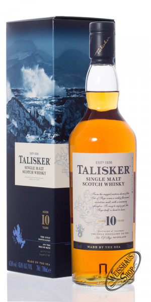 Talisker 10 YO Whisky 45,8% vol. 0,70l
