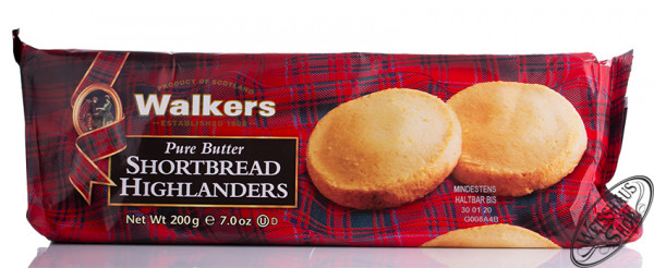 Walkers Shortbread Highlanders Softpack 200g