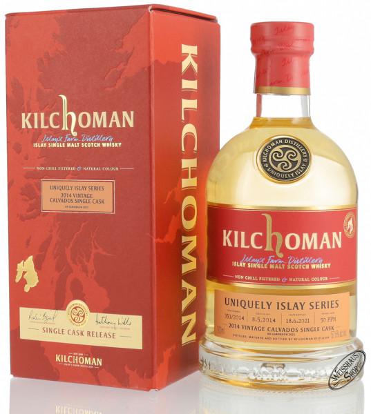 Kilchoman Vintage 2014 Calvados Cask Islay Whisky 57,5% vol. 0,70l
