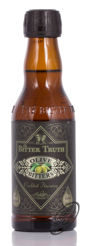 The Bitter Truth Olive Bitter 39% vol. 0,20l