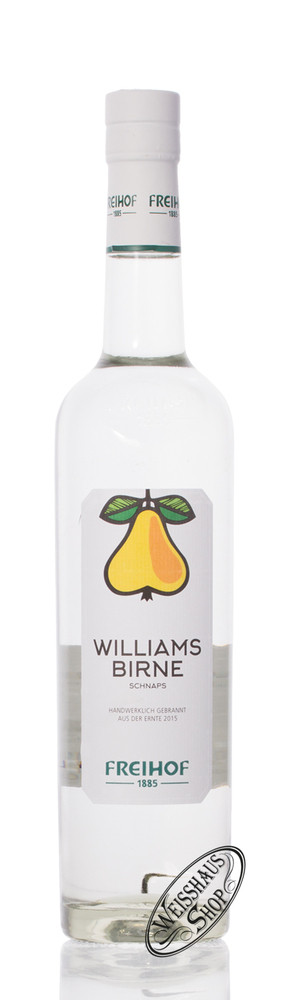 Freihof 1885 Williams Schnaps 38% vol. 0,50l