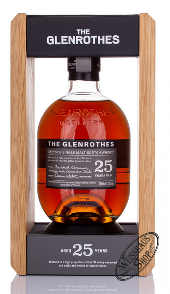 The Glenrothes 25 YO Whisky 43% vol. 0,70l