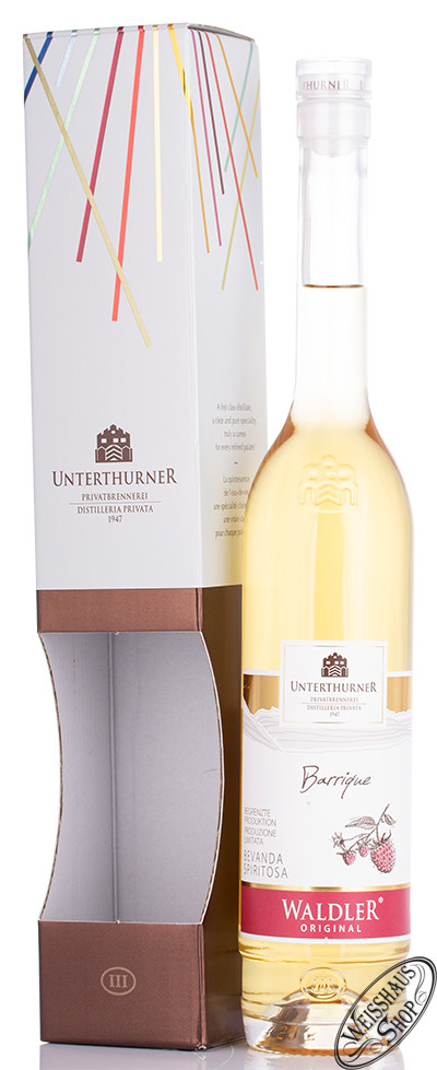 Unterthurner Waldler Barrique 39% vol. 0,50l