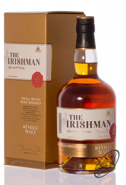 The Irishman Irish Single Malt Whiskey 40% vol. 0,70l