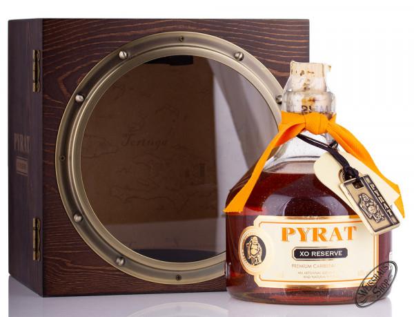 Pyrat XO Reserve Rum in Bullauge Geschenk-Set 40% vol. 0,70l