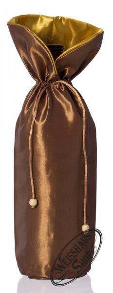 Braune Geschenktasche für 0,70l - Flasche
