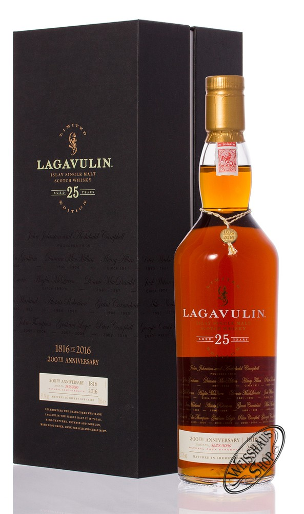 Lagavulin 25 YO Whisky 51,7% vol. 0,70l