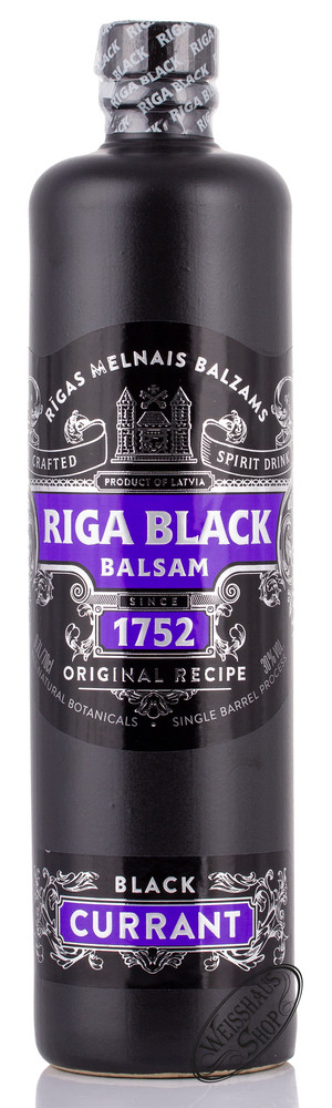 Riga Black Balsam Black Currant Bitter 30% vol. 0,70l
