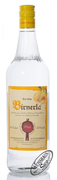 Prinz Birnerla 34% vol. 1,0l