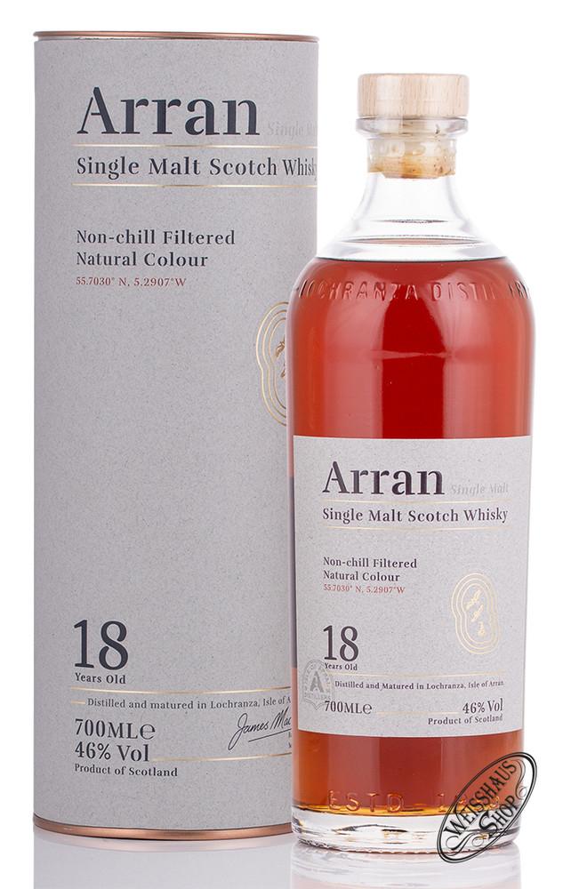 The Arran 18 YO Whisky 46% vol. 0,70l