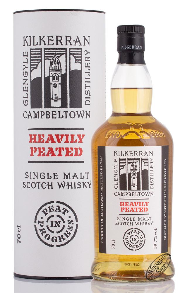 Kilkerran Heavily Peated Batch 3 Single Malt Whisky 59,7% vol. 0,70l
