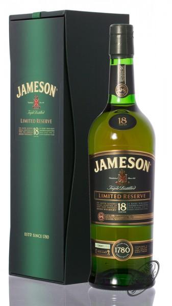 Jameson 18 Years Old Irish Whiskey 40% vol. 0,70l