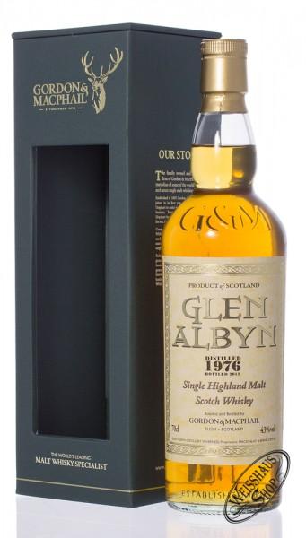 Glen Albyn Vintage 1976 Gordon & MacPhail Whisky 43% vol. 0,70l