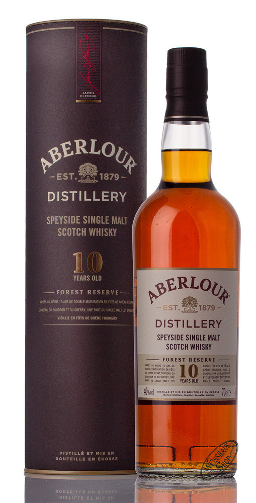Aberlour 10 YO Forest Reserve Whisky 40% vol. 0,70l