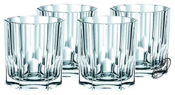 Nachtmann Aspen Whisky/Rum Tumbler Set 4 Gläser