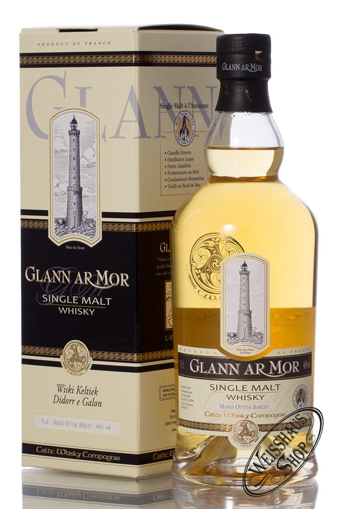 Glann Ar Mor Destillerie Glann ar Mor Single Malt Whisky 46% vol. 0,70l