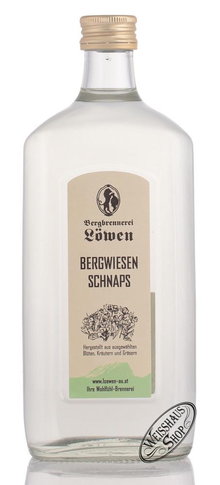 Bergbrennerei L�wen Bergwiesen Schnaps 40% vol. 0,50l