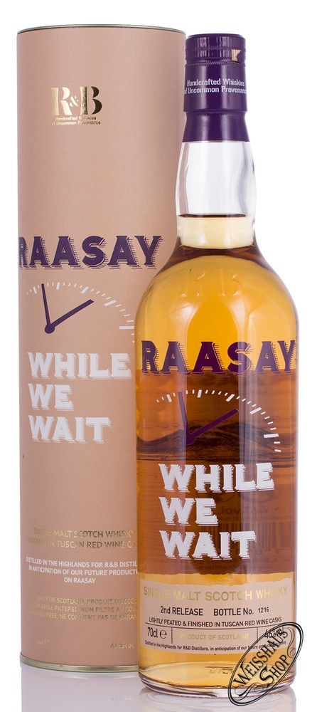 R & B Distillers Raasay While We Wait Single Malt Whisky 46% vol. 0,70l