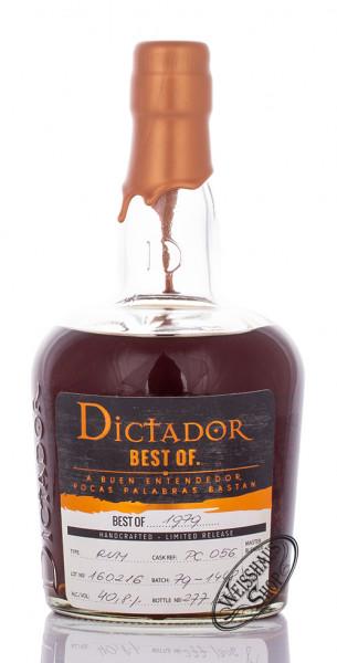 Dictador Best of 1979 Rum 40,8% vol. 0,70l