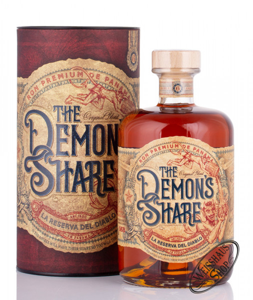 The Demon's Share 6 YO Panama Rum 40% vol. 0,70l