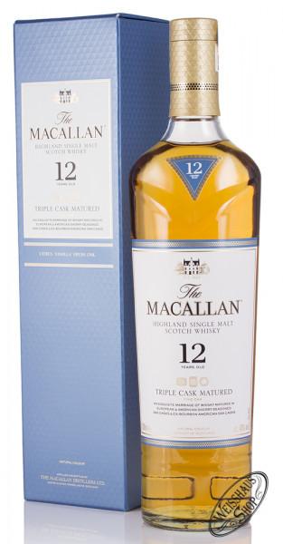 Macallan 12 YO Triple Cask Matured Triologie Whisky 40% vol. 0,70l