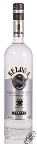 Beluga Export Noble Russian Vodka 40% vol. 0,70l