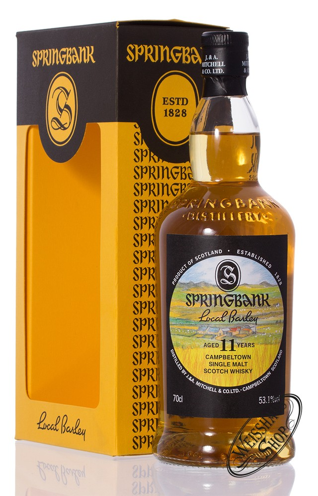 Springbank 11 YO Whisky Local Barley 53,1% vol. 0,70l