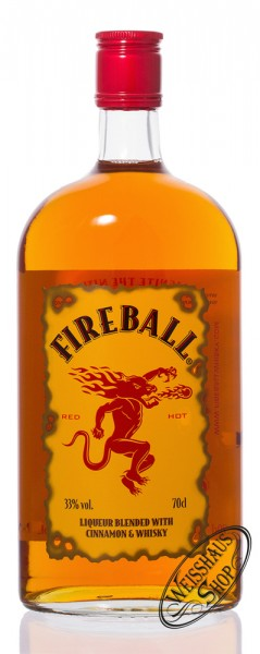 Fireball Whisky Zimt Likör 33% vol. 0,70l