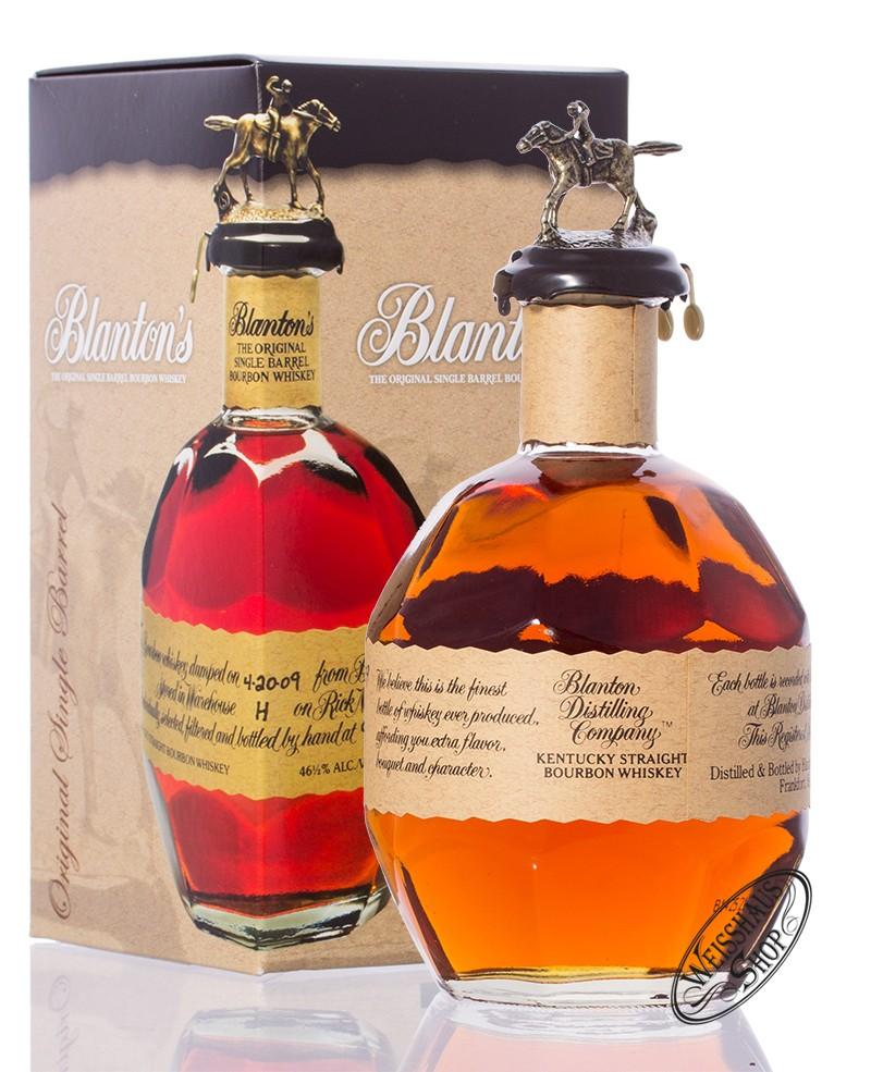 Blanton's The Original Whiskey 46,5% vol. 0,70l