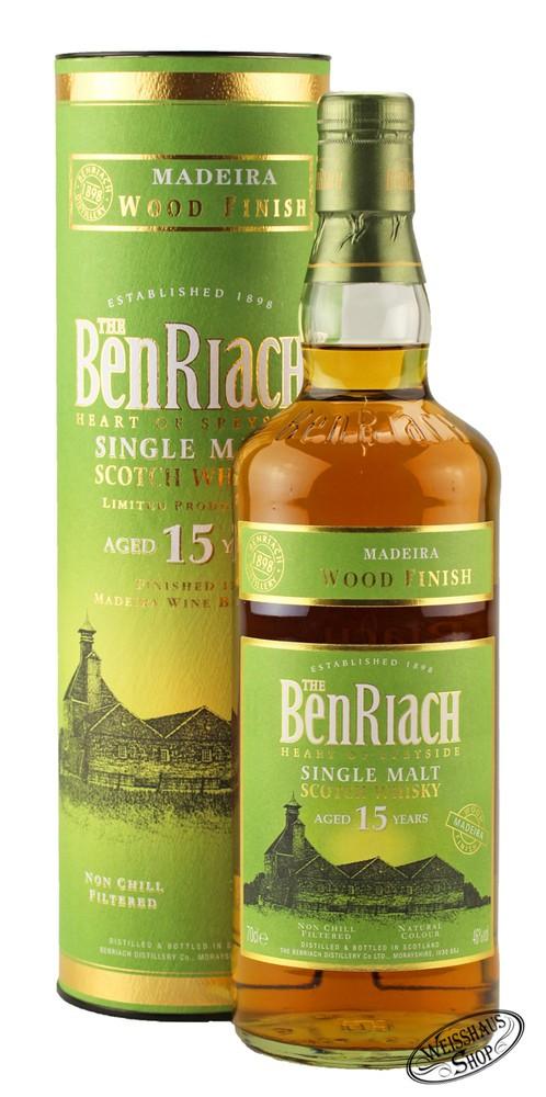 BenRiach 15 YO Madeira Finish Whisky 46% vol. 0,70l