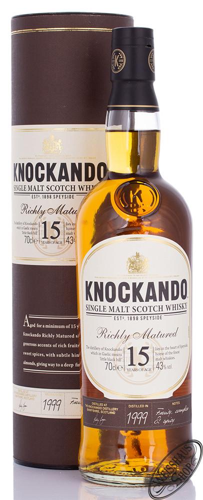 Knockando 15 YO Single Malt Whisky 43% vol. 0,70l