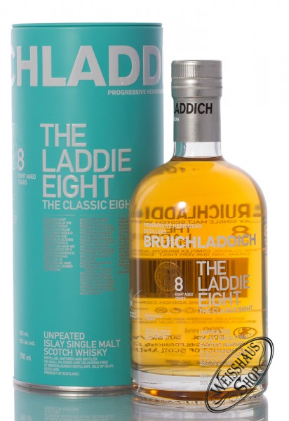 Bruichladdich The Laddie Eight Edition Whisky 50% vol. 0,70l