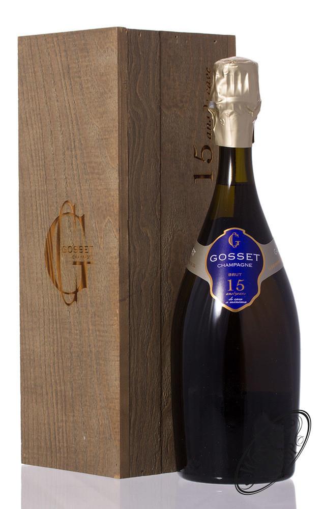 Gosset Brut 15 YO Champagner 12% vol. 0,75l